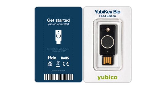 YubiKey Bio - FIDO Edition
