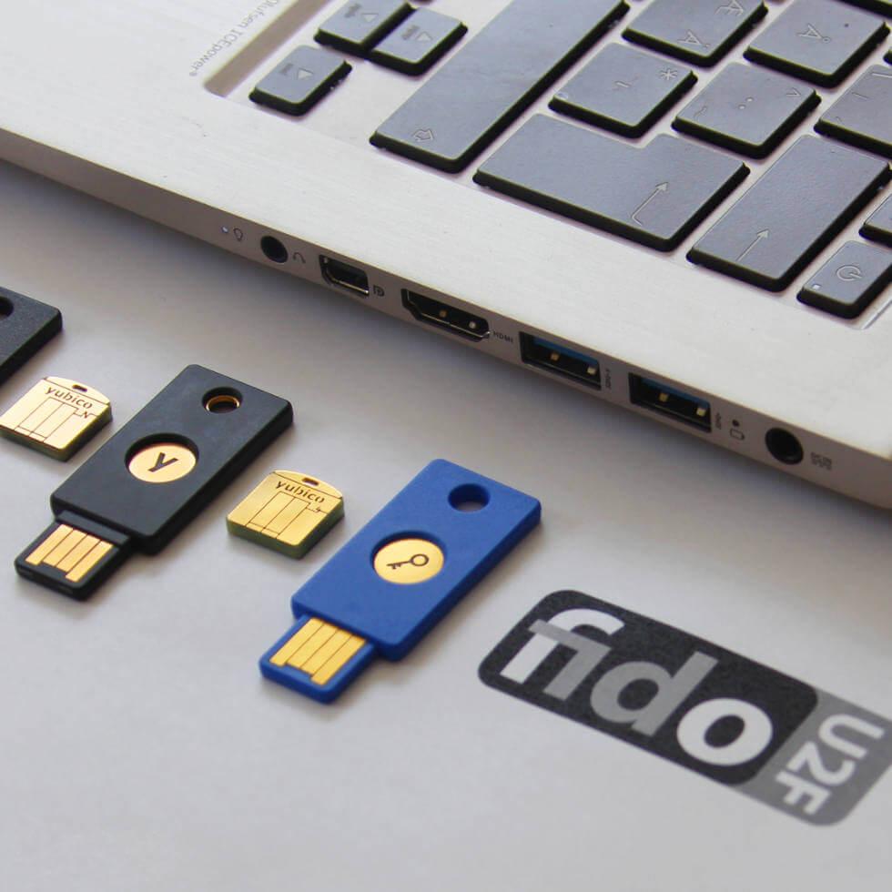 Yubico FIDO YubiΚey κλειδιά ασφαλείας
